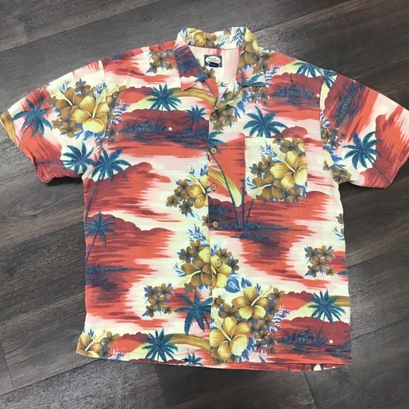 2189f174 Tommy Bahama Shirts | Large Hawaiian Magnum Pi Button Up | Poshmark